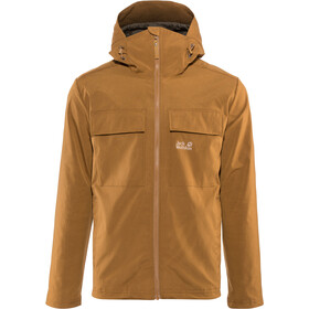Jack Wolfskin Summer Storm Jacket Herren bark brown